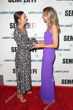 Leighton Meester and Sarah Michler