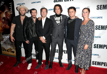 Jai Courtney, Beau Knapp, Henry-Alex Rubin, Nat Wolff, Arturo Castro and Leighton Meester