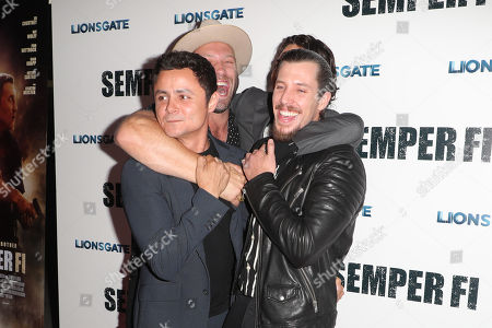 Arturo Castro, Jai Courtney, Nat Wolff and Beau Knapp