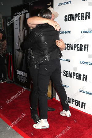 Editorial photo of 'Semper Fi' film screening, Los Angeles, USA - 24 Sep 2019