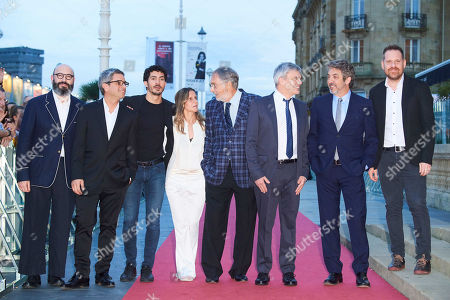 Stock Image of Ricardo Darin, Chino Darin, Luis Brandoni, Sebastian Borensztein