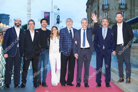 Editorial picture of 'Heoric Losers' film premiere, 67th San Sebastian Film Festival, Spain - 23 Sep 2019