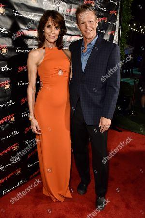 Alexandra Paul and Ian Murray