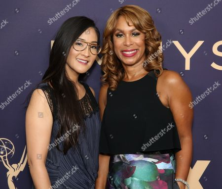 Lisa Nishimura and Channing Dungey