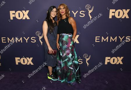 Stock Image of Lisa Nishimura and Channing Dungey