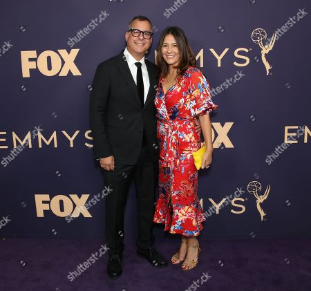 Editorial picture of 71st Annual Primetime Emmy Awards, Arrivals, Microsoft Theater, Los Angeles, USA - 22 Sep 2019