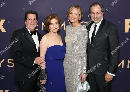 Stock Picture of Peter Roth, Ann Sarnoff and guests