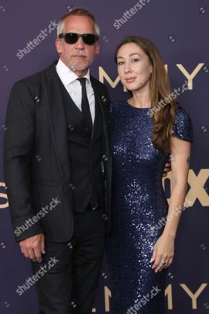 Jean-Marc Vallee, Aisling Chin-Yee. Jean-Marc Vallee, left, and Aisling Chin-Yee arrive at the 71st Primetime Emmy Awards, at the Microsoft Theater in Los Angeles