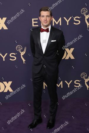 Joel Johnstone arrives at the 71st Primetime Emmy Awards, at the Microsoft Theater in Los Angeles