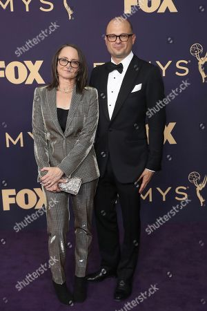 Nina Jacobson, Brad Simpson. Nina Jacobson, left, and Brad Simpson arrive at the 71st Primetime Emmy Awards, at the Microsoft Theater in Los Angeles