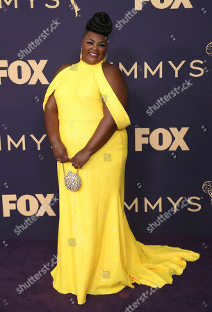 Stock Picture of Nicole Byer arrives at the 71st Primetime Emmy Awards, at the Microsoft Theater in Los Angeles