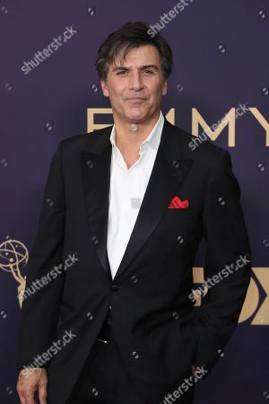 Stock Image of Vincent Irizarry arrives at the 71st Primetime Emmy Awards, at the Microsoft Theater in Los Angeles