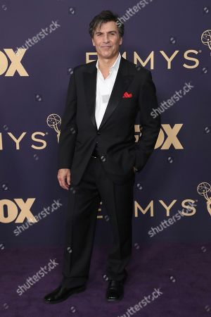 Vincent Irizarry arrives at the 71st Primetime Emmy Awards, at the Microsoft Theater in Los Angeles