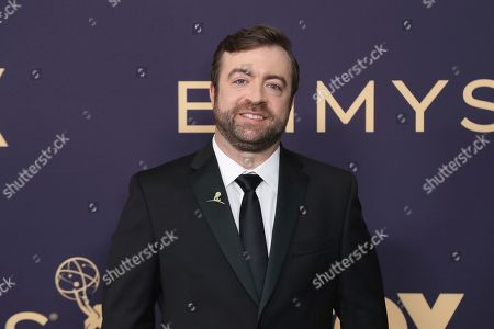 Stock Picture of Derek Waters arrives at the 71st Primetime Emmy Awards, at the Microsoft Theater in Los Angeles