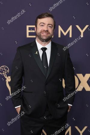 Stock Image of Derek Waters arrives at the 71st Primetime Emmy Awards, at the Microsoft Theater in Los Angeles