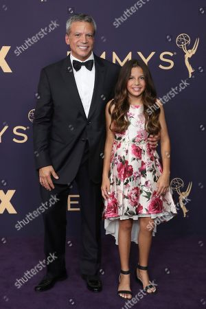Michael De Luca, Skylar De Luca. Michael De Luca, left, and Skylar De Luca arrive at the 71st Primetime Emmy Awards, at the Microsoft Theater in Los Angeles