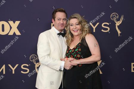 Thomas Lennon, Jenny Lennon. Thomas Lennon, left, and Jenny Lennon arrive at the 71st Primetime Emmy Awards, at the Microsoft Theater in Los Angeles