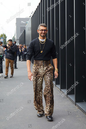 Editorial picture of Street Style, Spring Summer 2020, Milan Fashion Week, Italy - 22 Sep 2019