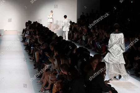 Editorial photo of Ermanno Scervino show, Runway, Spring Summer 2020, Milan Fashion Week, Italy - 21 Sep 2019