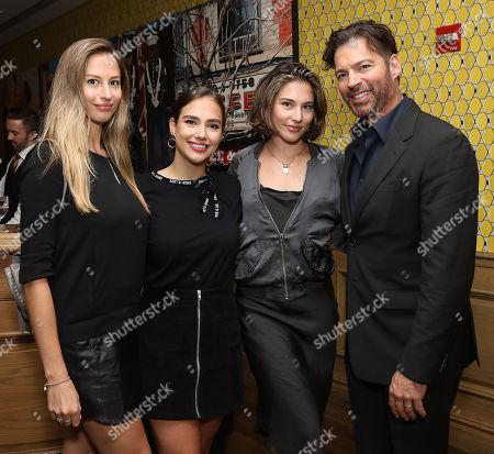 Georgia Tatum Connick, Charlotte Connick, Sarah Connick and Harry Connick Jr