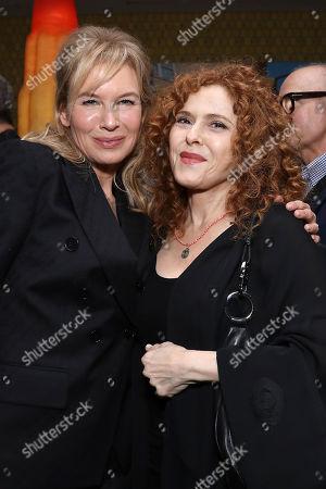 Stock Picture of Renee Zellweger and Bernadette Peters