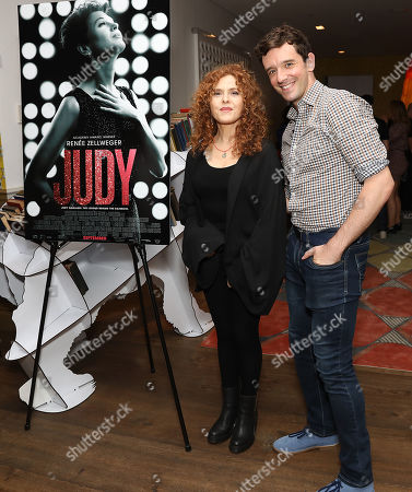 Bernadette Peters and Michael Urie