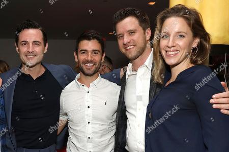 Max von Essen, Adam Cantor, Andy Truschinski and Jessie Mueller
