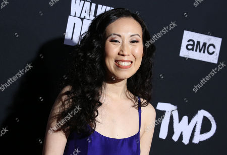 Editorial image of 'The Walking Dead' TV show Season 10 premiere, Arrivals, TCL Chinese 6 Theatre, Los Angeles, USA - 23 Sep 2019