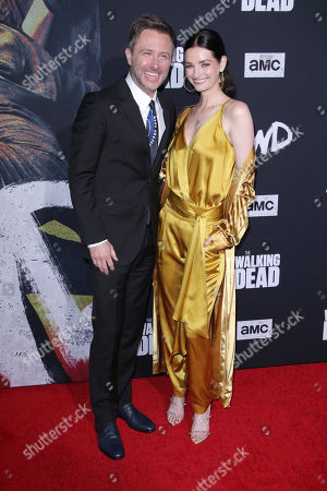 Chris Hardwick and Lydia Hearst-Shaw