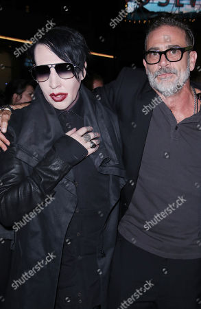 Marilyn Manson and Jeffrey Dean Morgan