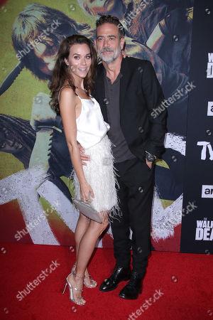 Hilarie Burton and Jeffrey Dean Morgan