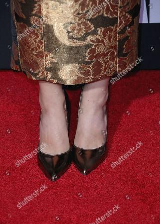Christian Serratos - shoe detail