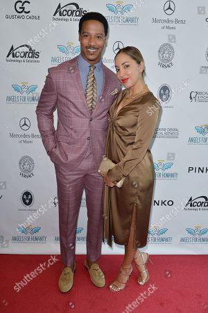 Brian J. White and wife Paula Da Silva