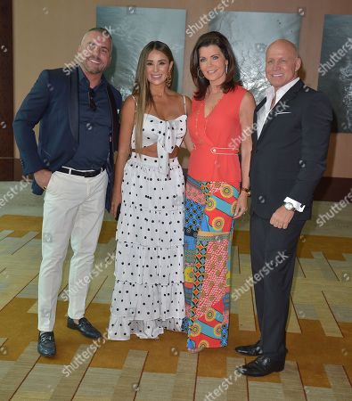 Stock Photo of Miguel Varoni, Catherine Siachoque, Laurie Jennings and Pete Tierney