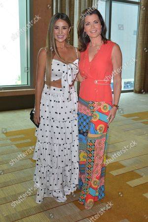 Catherine Siachoque and Laurie Jennings