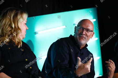Erica Schmidt (Global CEO, Cadreon), Scott Howe (President & CEO, LiveRamp)