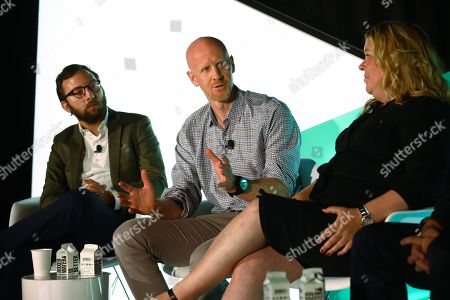 Martin Swant (Forbes, Reporter, CMO Network), Tim Cadogan (CEO, OpenX), Erica Schmidt (Global CEO, Cadreon)