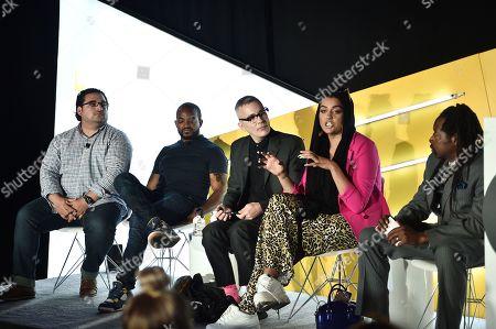 David Jones (CEO, The Cipher Group), Detavio Samuels (President, iONE Digital), Greg Brossia (EVP Brand Partnerships & Sales, Pride Media) and Amani Al-Khatahtbeh (Editor-In-Chief, Muslimgirl.com)