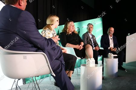 Rob Rasko (CEO & Founder, The 614 Group), Catherine Dale (Regional Vice President, Platform, SpotX), Erica Schmidt (Global CEO, Cadreon), David Skinner (Managing Director, Channels and Alliances, Acxiom), John Gentry (President, OpenX)
