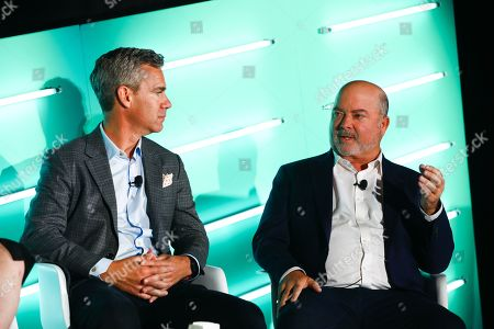 David Skinner (Managing Director, Channels and Alliances, Acxiom) and John Gentry (President, OpenX)