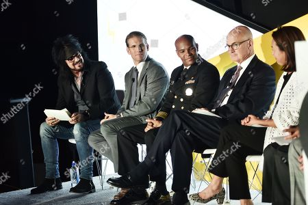 Editorial picture of Talk To Me: An Initiative Designed For Brands To Leverage In The Fight To Combat America's Opioid Epidemic seminar, Advertising Week New York, AMC Lincoln Square, New York, USA - 24 Sep 2019