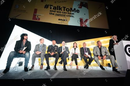 Editorial photo of Talk To Me: An Initiative Designed For Brands To Leverage In The Fight To Combat America's Opioid Epidemic seminar, Advertising Week New York, AMC Lincoln Square, New York, USA - 24 Sep 2019