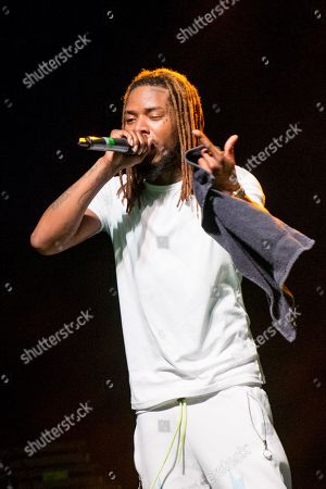 Editorial picture of Fetty Wap in concert at o2 Forum Kentish Town, London, UK - 23 Sep 2019