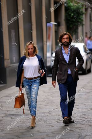 Editorial picture of Andrea Pirlo out and about, Milan, Italy - 23 Sep 2019