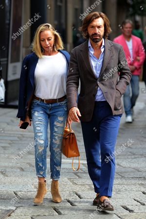 Editorial image of Andrea Pirlo out and about, Milan, Italy - 23 Sep 2019
