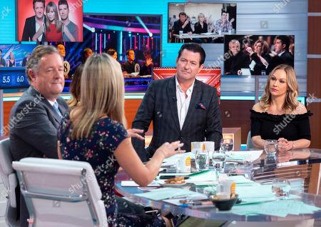 Stock Picture of Charlotte Hawkins, Piers Morgan, Susanna Reid, Gary Edwards and Kristina Rihanoff