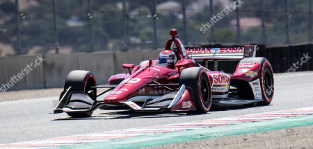 Monterey, CA, U.S.A. Ed Carpenter Racing driver Ed Jones (20) in turn 7 Rahal straight of United States during the Firestone Grand Prix of Monterey IndyCar Championship at Weathertech Raceway Laguna Seca Monterey, CA Thurman James / CSM