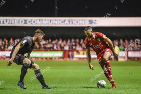 Editorial photo of Crawley Town v Stoke City, EFL Carabao Cup, Third Round, Football, The People's Pension Stadium, UK - 24 Sept 2019