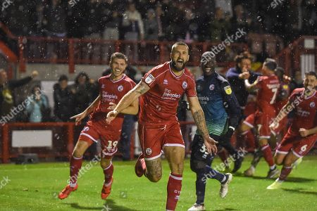 Editorial image of Crawley Town v Stoke City, EFL Carabao Cup, Third Round, Football, The People's Pension Stadium, UK - 24 Sept 2019