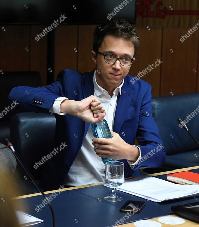 Spokesman of Madrid's regional party Mas Madrid, Inigo Errejon, is seen during a meeting of the regional Parliament Board of Spokespersons at Madrid's regional Parliament in Madrid, Spain, 24 September 2019. Mas Madrid announced on 22 September 2019, that the party will present a candidate for the next general elections. Spain will be holding general elections on 10 November 2019 after acting and elected Prime Minister Pedro Sanchez failed to obtain support at Parliament to form a government.
